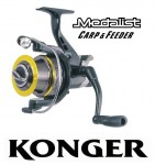 Konger Medalist Carp & Feeder Long Cast 740