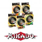 Mikado Plecionka Nihonto Octa Braid 0,10 orange 150m