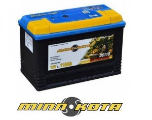 Minnkota Akumulator 110Ah 12V